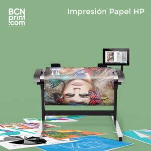 Impresión Papel Póster HP