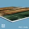 PVC Rígido + Impresión Vinilo