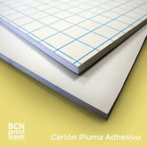 Cartón Pluma adhesivo
