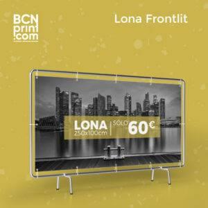 Lona Frontlit 250x100cm